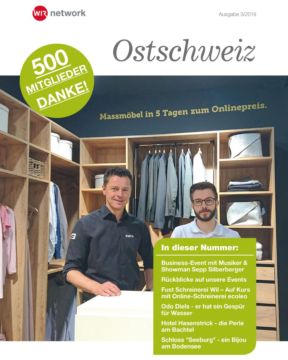Das neue WIR-Network Magazin Ostschweiz - Jetzt online