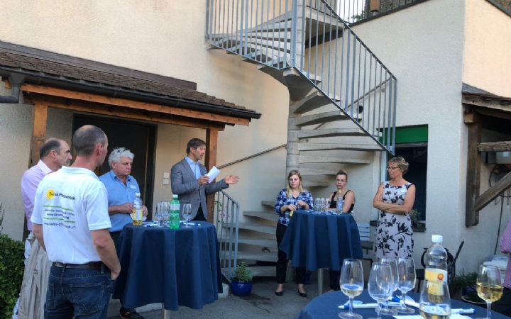 WIR-Business-Event bei Zier AG, Pfungen