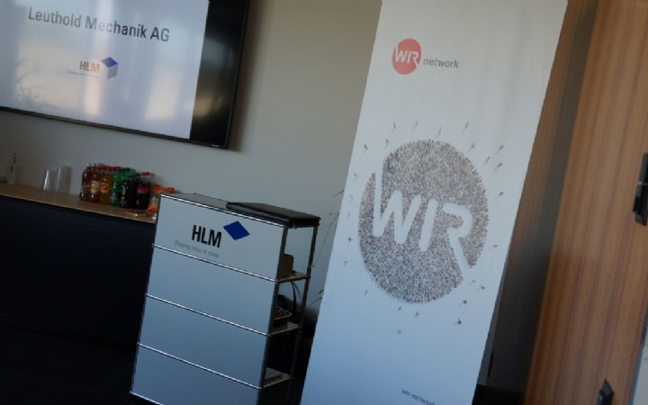 WIR-Business Event HLM Leuthold Mechanik AG